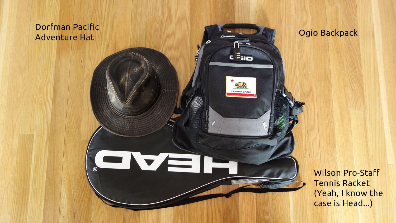 Minimal travel pack